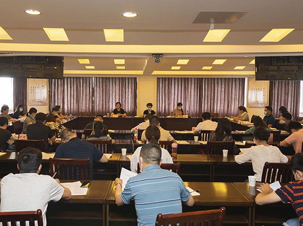 住房城乡建设厅召开全省人事教育工作座谈会